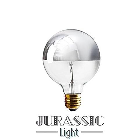 Ampoule calotte argentée globe 95MM: Amazon.fr: Luminaires et ...