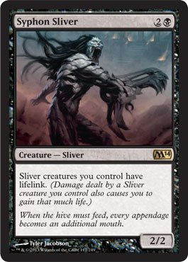 Magic: The Gathering - Syphon Sliver (117/249) - Magic 2014