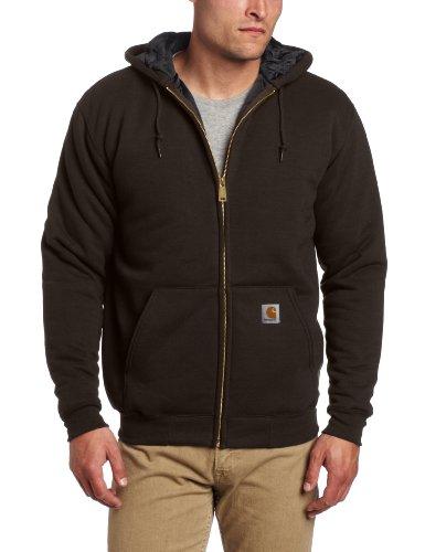 Carhartt Men's 3 Season Midweight Sweatshirt Zip Front Relax