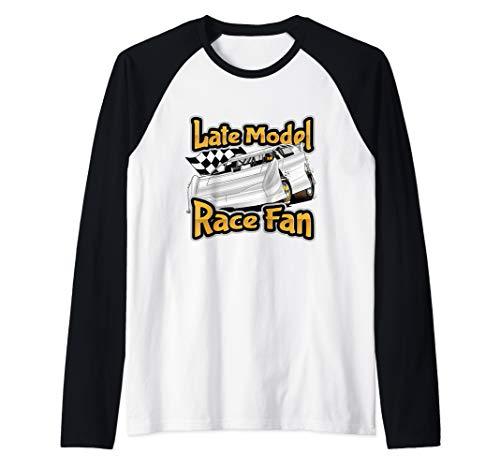 - Late Model Race Fan Shirt | Stock Car Racing Raglan Baseball Tee