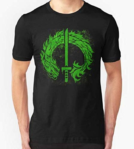 Amazon.com: Cyborg Ninja Dragon Stencil T-Shirt For Men ...