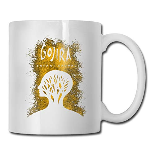 LarryGThatcher Gojira L'enfant Sauvage Women Or Men Cup 3D Printing Funny Fashion Boys&Girls Coffee Cup/Tea Cup/Mug/Water Cup