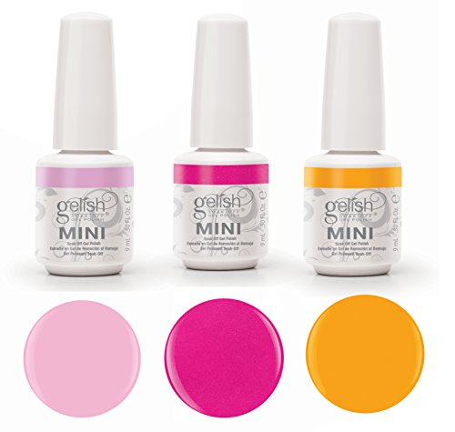 Gelish Neon Street Beat 3 Color Gel Nail Polish Kit - Includ