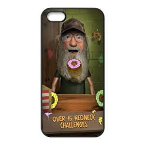 Duck Dynasty iPhone 5 5s Cell Phone Case Black xvq desz