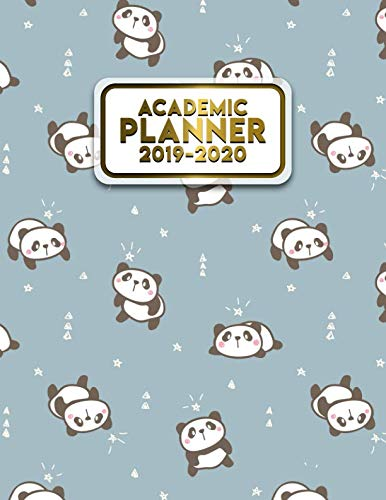 Academic Planner 2019-2020: Daily, Weekly & Monthly Student Planner, Organizer & Schedule Agenda for Students   Inspirational Quotes, Notes, To-Do's, Vision Boards & More   Cute Girly Panda Print]()