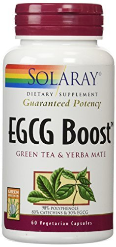 Solaray EGCG Boost Vegetarian Capsules, 450 mg, 60 Count by - Capsules 60 Egcg