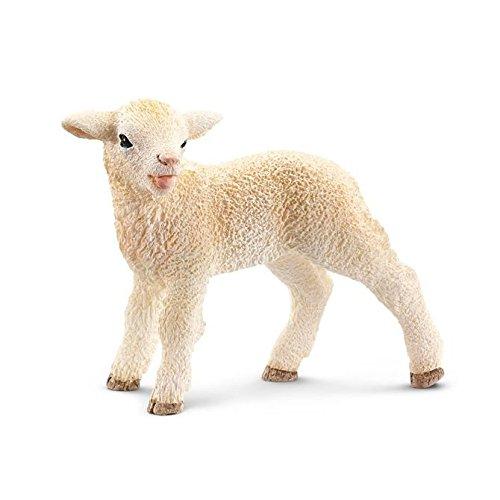 Schleich 13744 Lamb Figurine, White