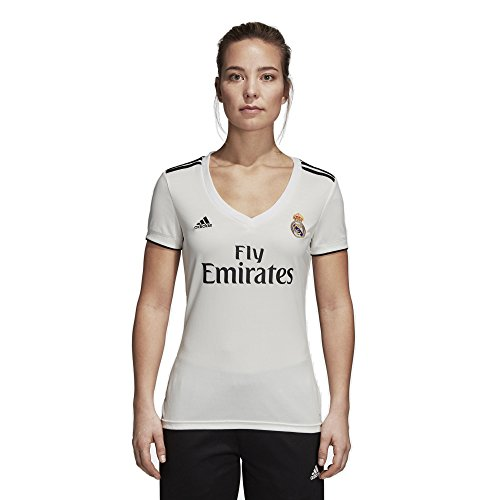 adidas 2018/19 Womens Real Madrid Home Replica Jersey Small, Core - Home Jersey Replica Ladies