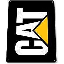"""Tin Sign """"Gato mecánico herramientas eléctricas Equipo pesado Caja de herramientas Garage Shop B095#"""