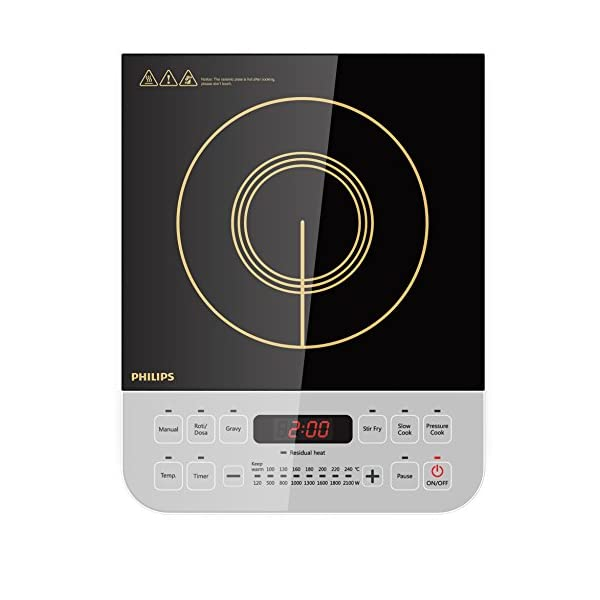 Philips Viva Collection HD4928/01 Induction Cooktop-