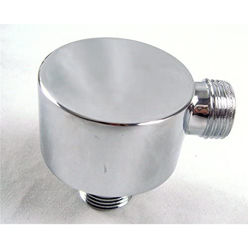 high-quality Weirun Modern Bathroom Brass Shower Hose Connector Wall Supply Elbow Outlet Spout Wall Mounted,Chrome