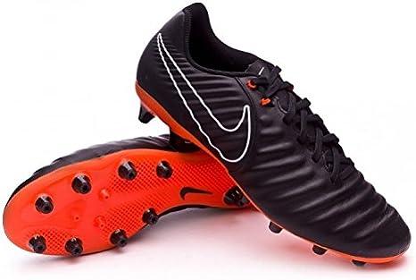 prestar Descompostura Productivo  Nike Bota Futbol Tiempo Legend 7 Suela AG Negra Adulto: Amazon.es: Deportes  y aire libre