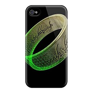 For Iphone 4/4s Tpu Phone Case Cover(lordof The Rings)