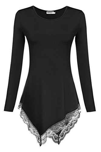 HOTOUCH Womens Sleeve Hankerchief Shirts product image