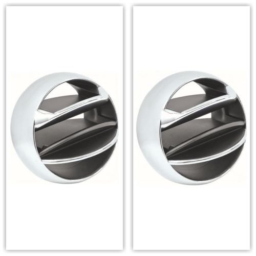 OER 3856472-2 1965-1977 GM Chrome Dash AC Vent Ball Firebird Camaro Truck ()