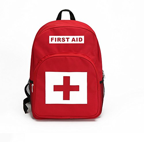 E-FAK Red Backpack for First Aid Kits Pack