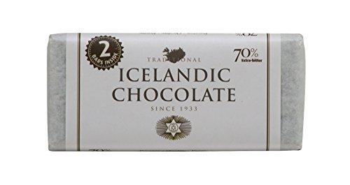 Noi Sirius Pure Icelandic Chocolate Bar - Extra Bitter 70% (7.05 (Extra Bitter)