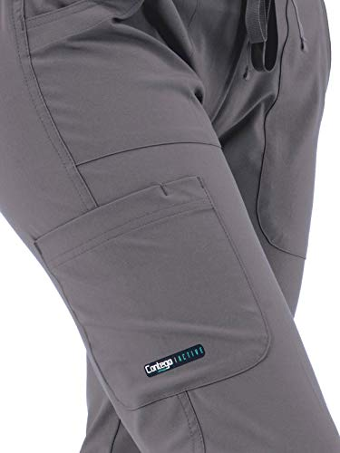 LifeThreads Contego Active Women's Antimicrobial Cargo Pant - Modern Fit Medical Scrub Pant