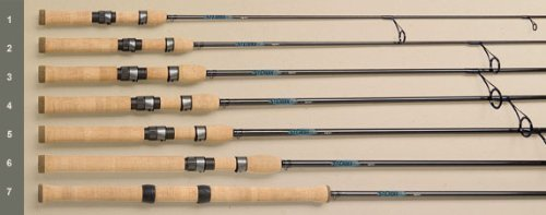 St. Croix Legend Xtreme Spinning Rods Model: LXS59MXF (5' 9