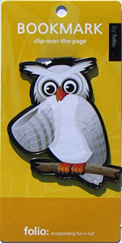 Owl Bookmarks (Clip-over-the-page) Set of 2 - Assorted colors Photo #3