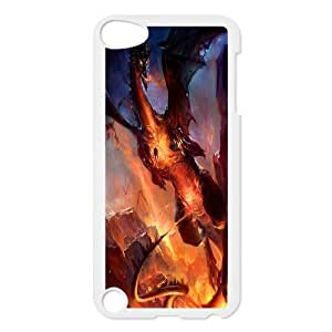 UNI-BEE PHONE CASE FOR Ipod Touch 5 -Dragon & Beast-CASE-STYLE 14