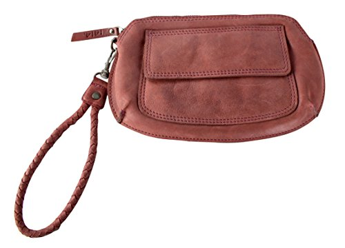 Feldmoser 1414 Clutch Eva Leder 26.5 x 15 x 5.4cm (DM Used Red)