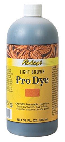 Fiebing's Pro Dye, Light Brown, 1 - Light Dye Leather