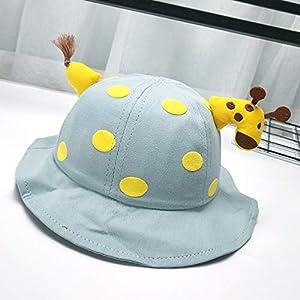 (Green) Children's Protective Cap Detachable Safety Full face mask Sun Visor mask Giraffe Fisherman Sun hat