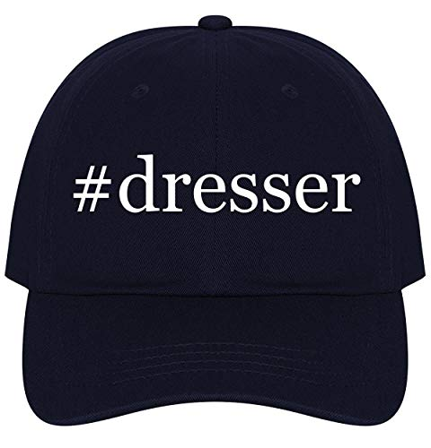 The Town Butler #Dresser - A Nice Comfortable Adjustable Hashtag Dad Hat Cap, Navy, One - Ball Storkcraft