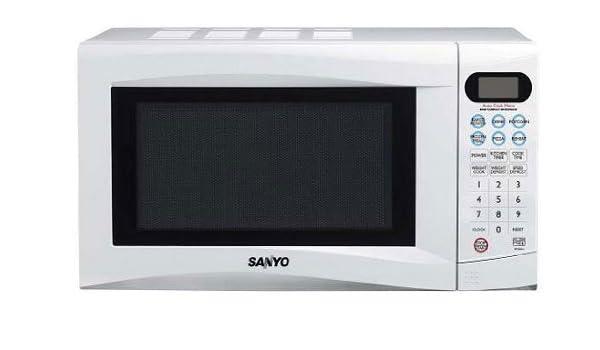 Sanyo - Microondas Emg256Aw, 20L, 800W, Congrill 1000W Simultaneo ...