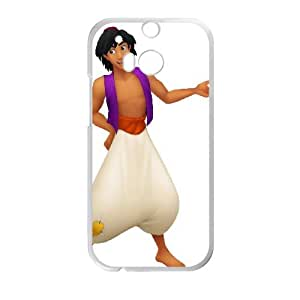HTC One M8 Cell Phone Case Covers White Aladdin Character Aladdin F7656224