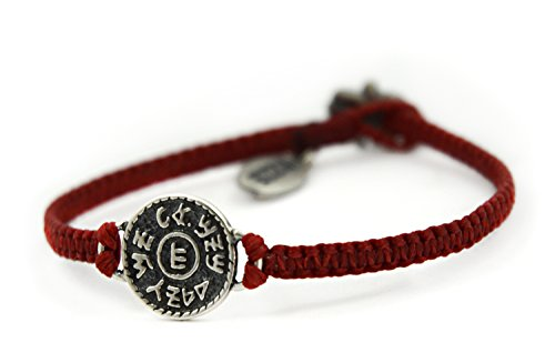 Financial Success Amulet Hand Woven Red Charm Bracelet for Men -