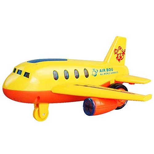 FairOnly 飛行機 模型 モデル かわいい 子供 LED点滅 音楽 おもちゃ ランダム色 クリスマス 誕生日 子供の日 ギフト