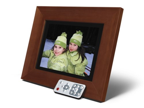 (Smartparts SPDPF84M 8-Inch Digital Picture Frame (Wood))
