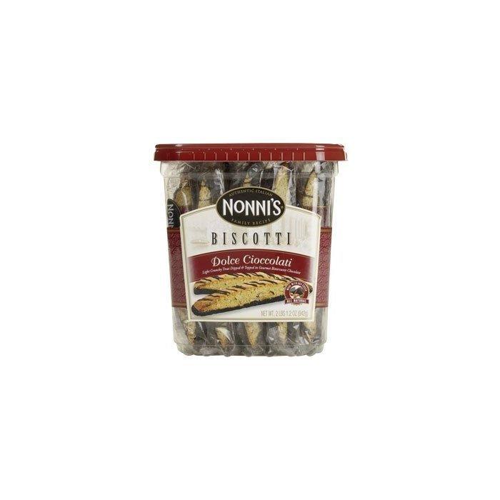 Nonni's Biscotti Dolce Cioccolati 28/1.33oz