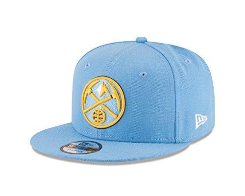 New Era NBA Denver Nuggets Men's 9Fifty Team Color Basic Snapback Cap, One Size, - Nuggets Denver