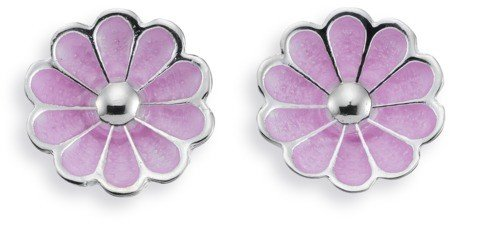 Studs Jewelry Spinning (Spinning Jewelry Studs 112406 Blossom Lavender Ear stud)