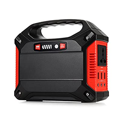 Portable Generator ATTER | Power Inverter Battery Camping CPAP Emergency Home Use UPS Power Source Charged by Solar Panel