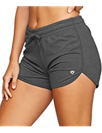 Active Women's Simone Cotton Blend Yoga and Running Shorts
