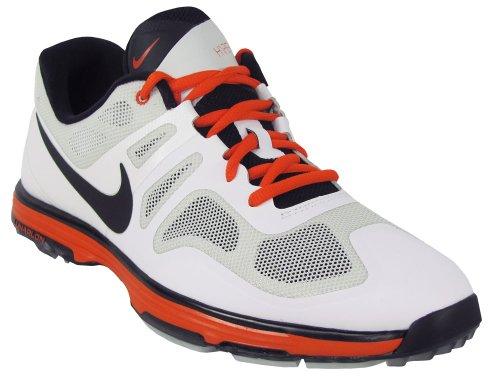 2014 Nike Lunar Ascend II spike sin para hombre zapatos luz Base Licht base Grau/Schwarz