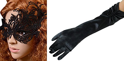 IF FEEL Halloween Masquerade Party Cosplay Costume Accessories Treat or Trick (One size, 14-2)