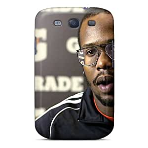 Galaxy S3 Hard Back With Bumper Silicone Gel Tpu Case Cover Von Miller Workout