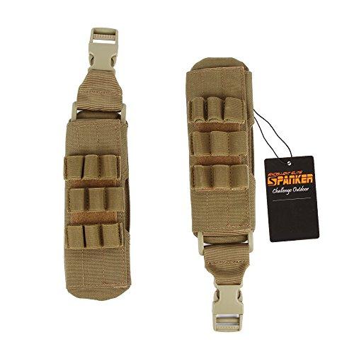 EXCELLENT ELITE SPANKER 1000D Nylon Molle Shoulder Pad for Tactical Vest Carrier Plate Backpack Strap Pads(Coyote Brown)