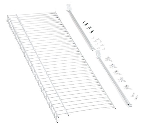 ClosetMaid 51031 Wire Shelf Kit, 3-Feet, White by ClosetMaid (Image #1)