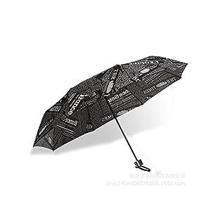 Saimoe Newspaper umbrella, men and women share folding umbrella, umbrell,Golf & Sports