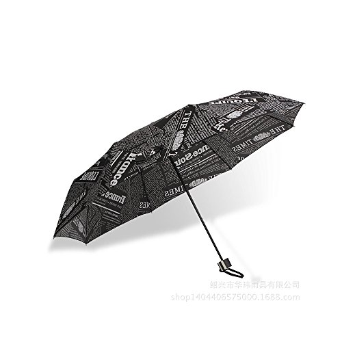 Saimoe Newspaper umbrella, men and women share folding umbrella, umbrell,Golf & Sports by Saimoe