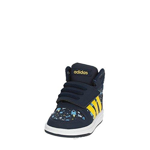 adidas Vs Hoops Mid 2.0, Zapatillas Unisex Bebé Azul (Maruni / Eqtama / Azucen 000)