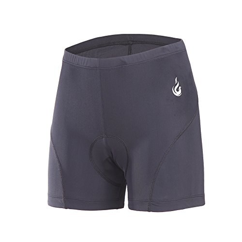 Womens Race Short (Beroy Women Quick Dry Cycling Underwear with 3D Padded,Gel Bike Underwear and Bike Shorts(S,black))