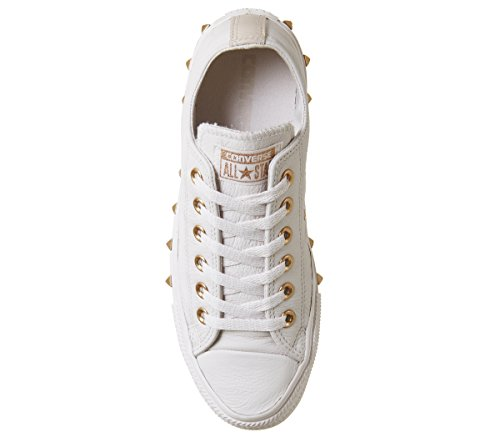 Beige Pale Converse adulto Chuck Ox Core Taylor Exclusive Lea Sneaker Stud Quartz Unisex Particle x7qqpwS
