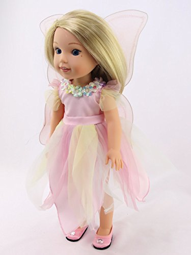 Pastel Fairy | Fits 14'' Wellie Wisher Dolls | 14'' Inch Doll Clothing